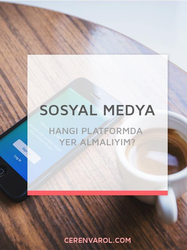 Hangi Sosyal Medya Platformunda Yer Almalıyım?