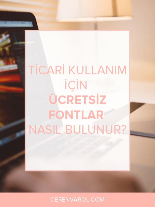 Ticari Kullanım için Ücretsiz Fontlar Nasıl Bulunur?