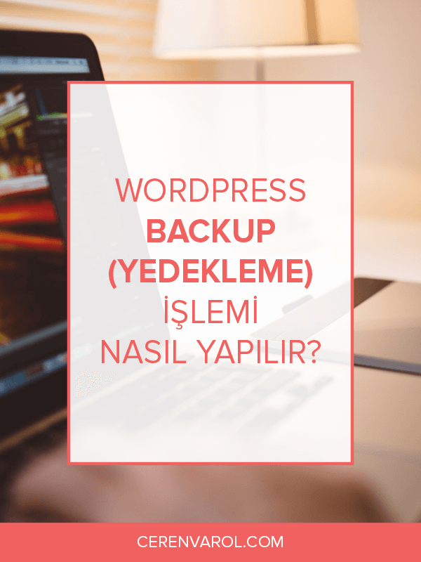 WordPress Backup (Yedekleme) İşlemi Nasıl Yapılır?