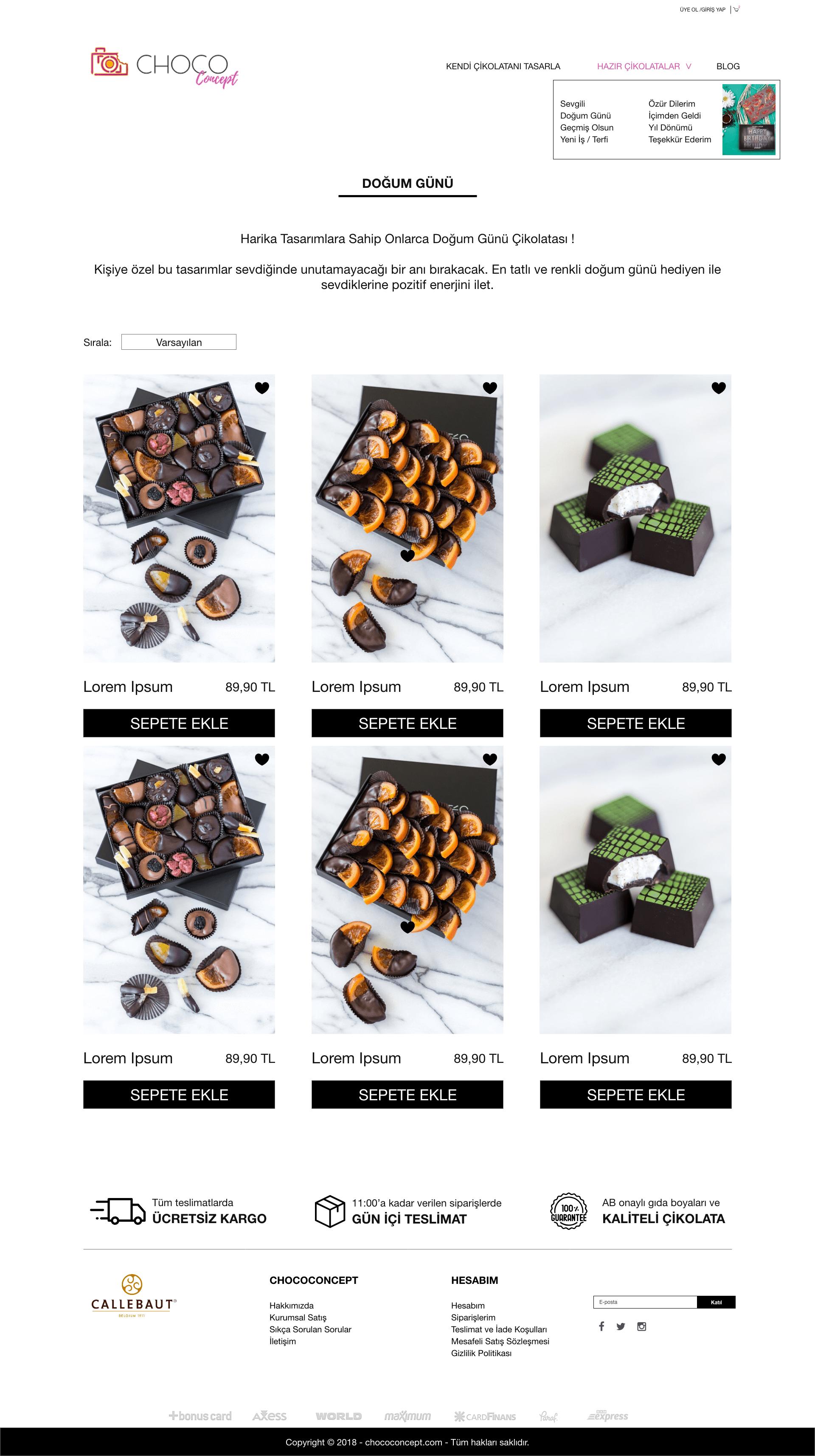 Ceren Varol Choco Concept