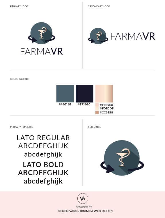 Ceren Varol FARMAVR Brand Board