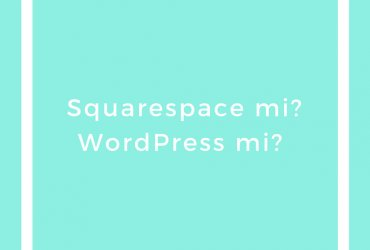 Squarespace mi WordPress mi / Squarespace vs WordPress